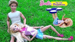 Мультик Барби Смешная уборка в доме мечты Челси играет в Спиннер Play dolls ♥ Barbie Original Toys