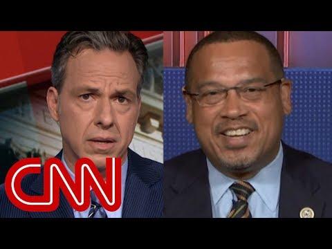 Tappers question upsets congressman: Thats not true!