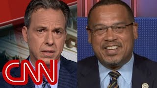 Tapper's question upsets congressman: