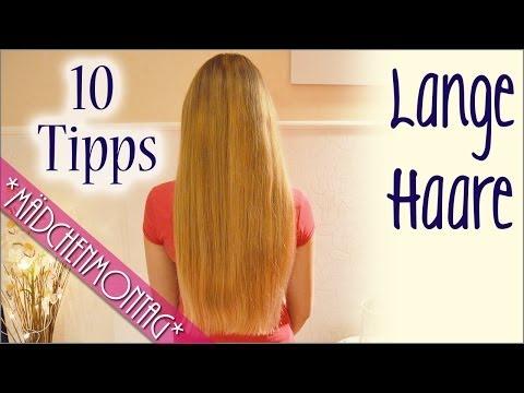 10 TIPPS für LANGE GESUNDE HAARE   MädchenMontag