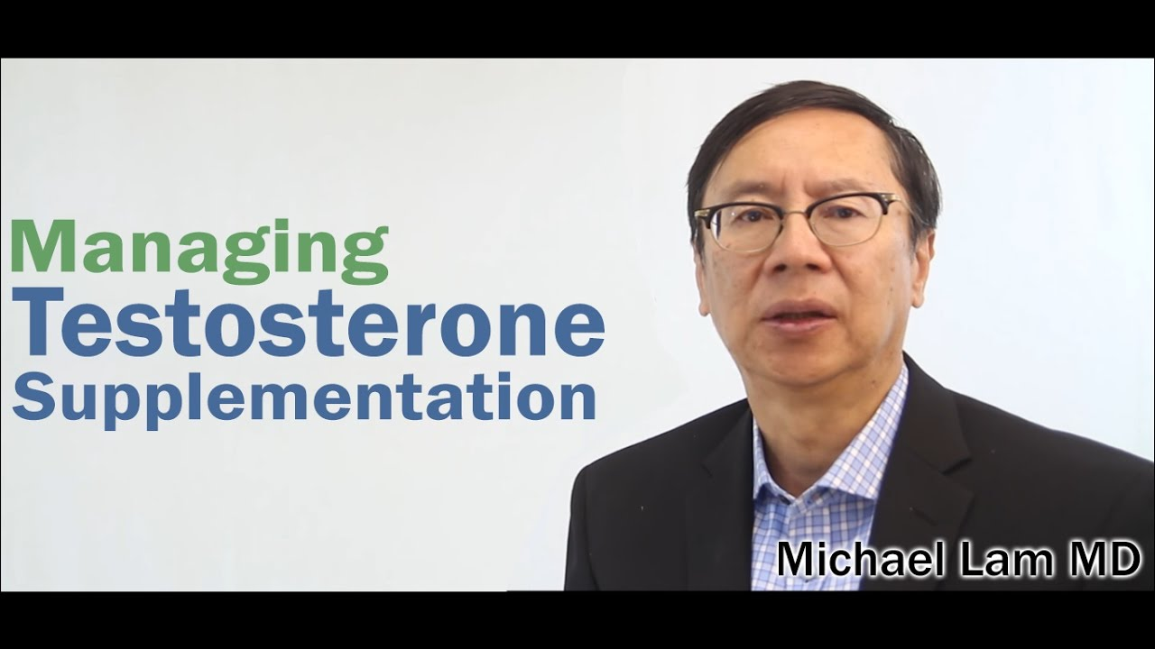Managing Testosterone Supplementation - YouTube