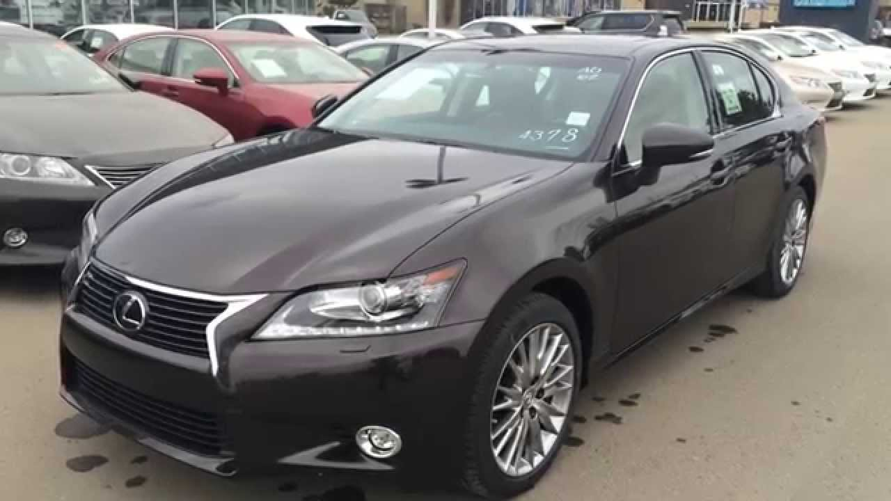 2014 lexus gs 350 awd technology plus package review edmonton youtube. Black Bedroom Furniture Sets. Home Design Ideas