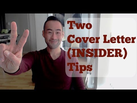 Cover Letter Tips From A Hiring Manager's Perspective