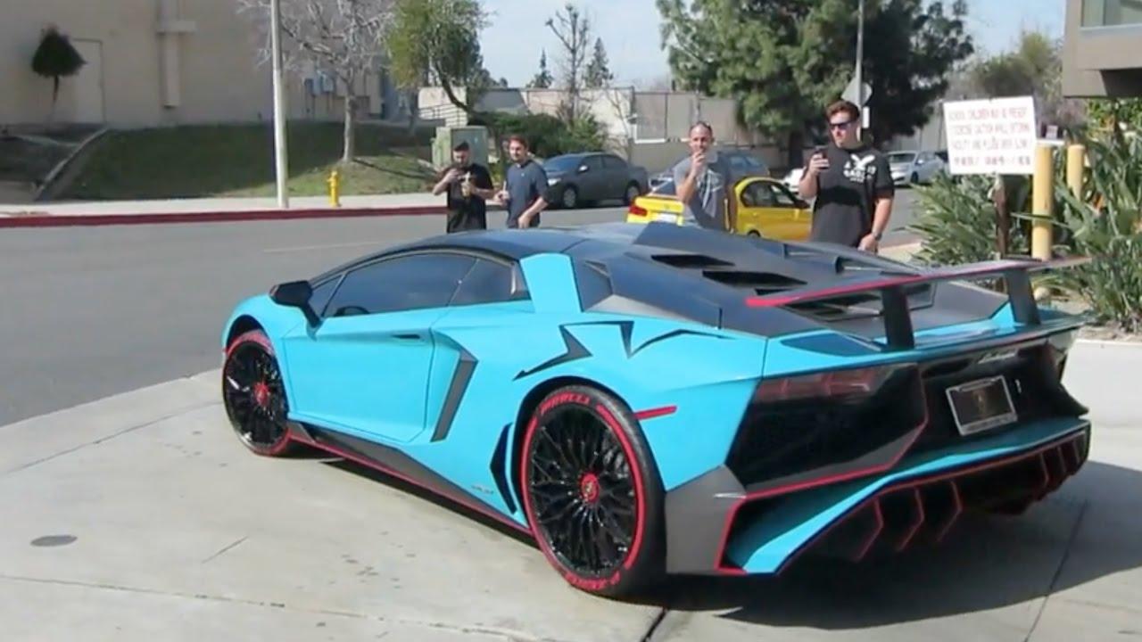 Custom Lamborghini Aventador SV (w/ Rev Sounds)
