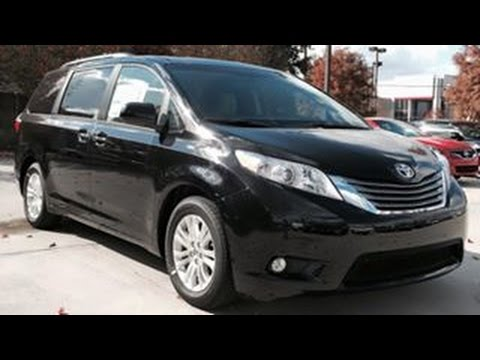 2015 Toyota Sienna Full Review Start Up Interior