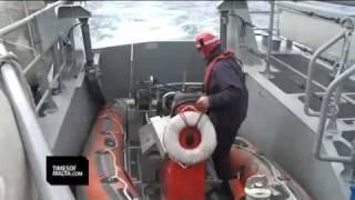 AFM patrol boat in Frontex mission
