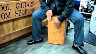 Cajon Drum beat box demo