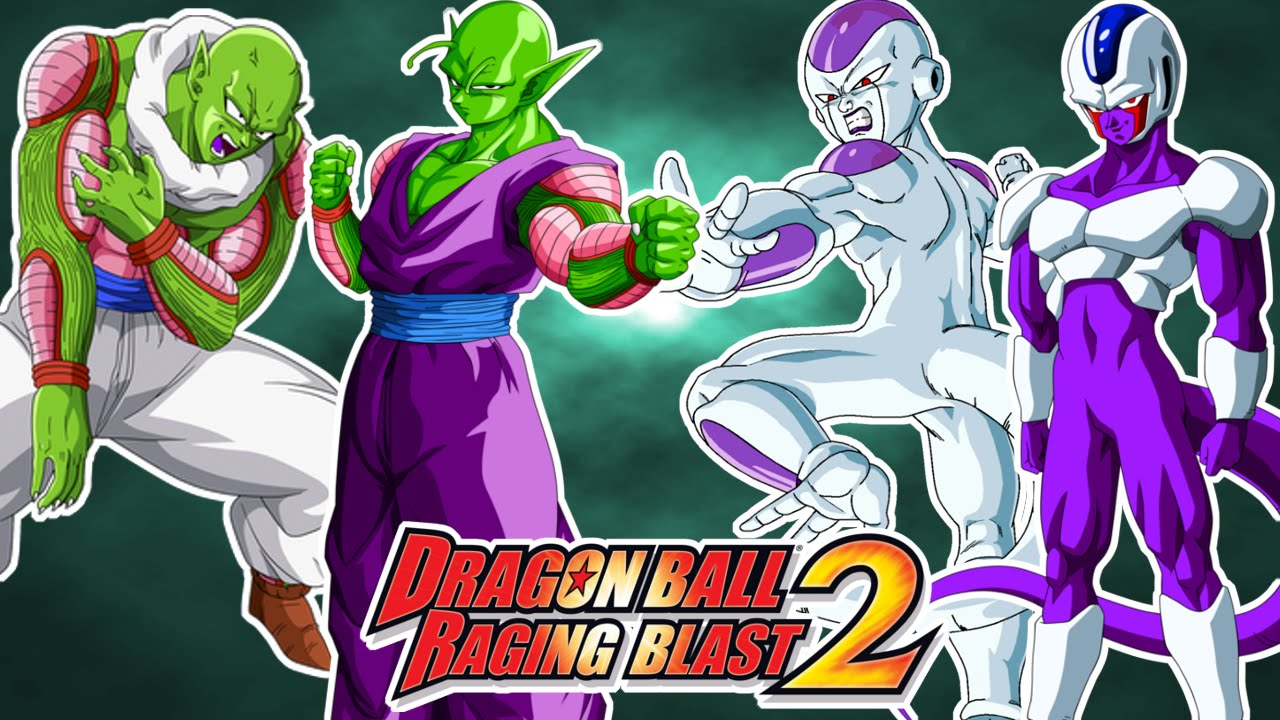 Dragon ball raging blast 2 piccolo y nail vs freezer y for Freezer piccolo