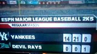 MLB 2K5 Perfect Game