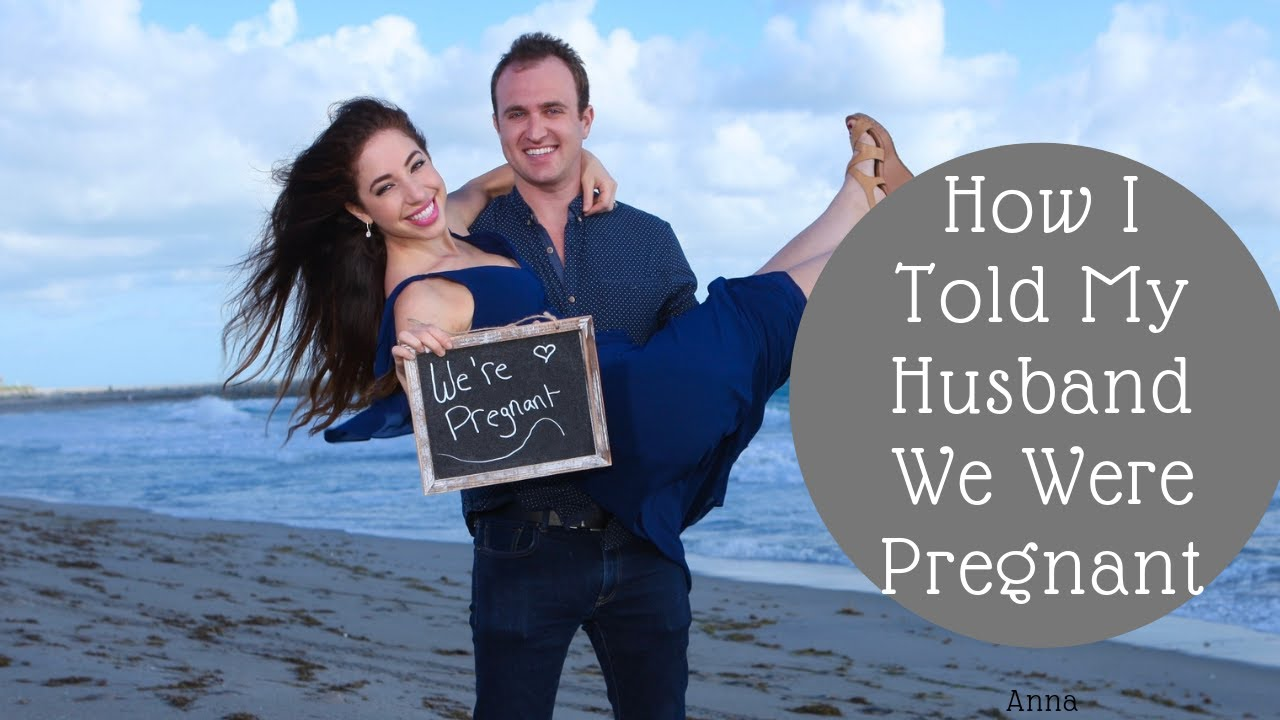 How I Told My Husband We're Pregnant