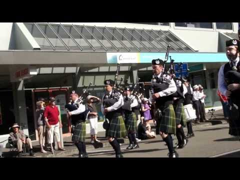 The City of Dunedin's G2 Street March at the NZ National Championships