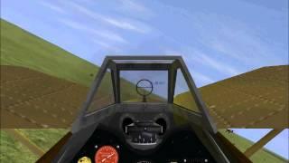 PZL P.11 vs Fiat CR.42.wmv