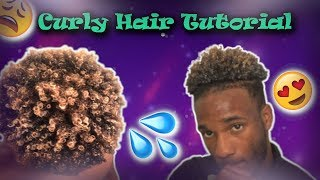 😍💦HOW TO GET NATURAL BOUNCY LOOSE CURLS TUTORIAL💦😩 || MEN AND WOMEN