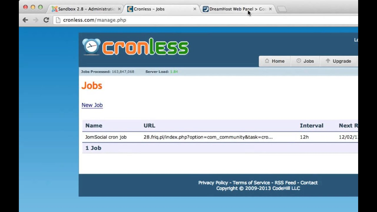 Setting Up Cron Job - JomSocial Documentation