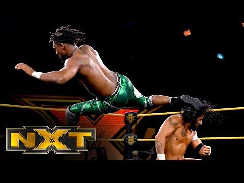 """Santos Escobar vs. Isaiah """"Swerve"""" Scott – NXT Cruiserweight Title Match: WWE NXT, Aug. 26, 2020"""