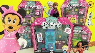 Игрушки из мультиков Disney Doorables Холодное сердце Красавица и Чудовище Рапунцель Моана