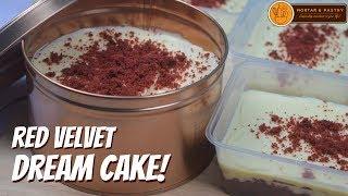 RED VELVET DREAMCAKE IN TUB! | How to Make Red Velvet Dream Cake | Ep. 85 | Mortar and Pastry