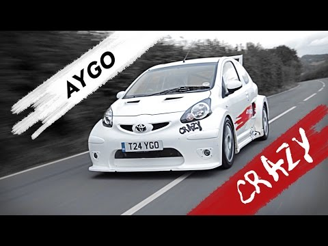 The World's Baddest Toyota Aygo Is A 200hp RWD Ride With Mad Attitude