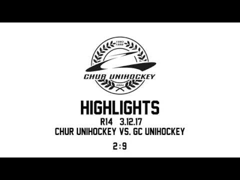 Chur Unihockey vs Grasshopper Club Zürich 3.12.17