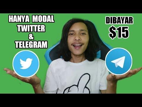 $15 Dapatkan Gratis   Cuma Modal Twitter & Telegram