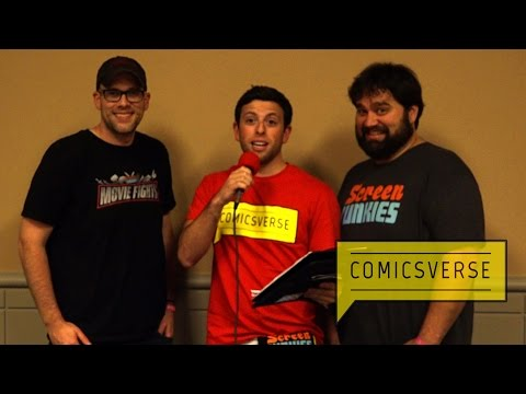 Dan Murrell and Andy Signore, the Screen Junkies, interview at Wizard World Philadelphia 2016