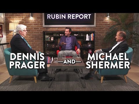 Dennis Prager & Michael Shermer: A Conversation About God and Morality (Full)