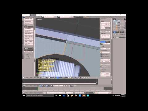 Blender 2.75 Free energy time lapse part 1 2015 08 13
