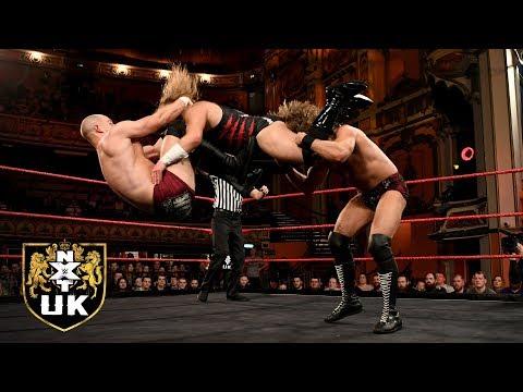 "Gibson & Drake vs. ""Wild Boar"" Hitchman & ""Primate"" Melrose: NXT UK, Dec. 26, 2018"
