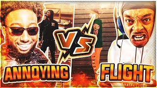 FLIGHTREACTS vs ANNOYINGTV BEST OF 5 HUGE WAGER NBA 2K20! *MOST EMOTIONAL GAME OF THE YEAR!*