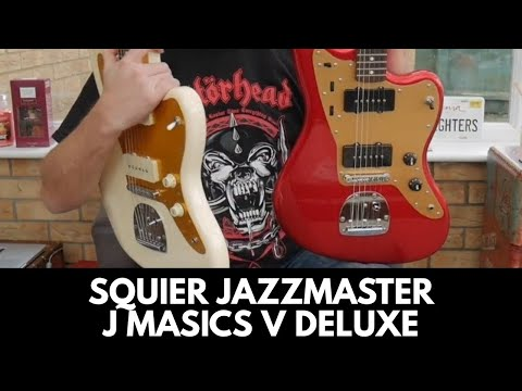 SQUIER JAZZMASTER COMPARISON J Mascis Vs Deluxe