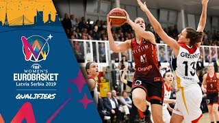 Germany v Belgium - Full Game - FIBA Women's EuroBasket 2019 - Qualifiers 2019
