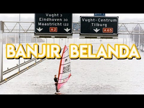 BANJIR DI BELANDA! | REZZVLOG