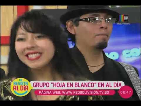 CUMBIA DE HOY - EL GRUPO ''HOJA EN BLANCO'' SE PRESENTA EN ''AL DÍA''