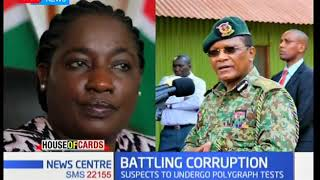President Uhuru Kenyatta employs a different tact introducing lie detectors - News Centre