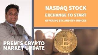 Nasdaq stock exchange gaat index op Bitcoin en Ethereum aanbieden