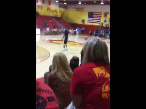 Rowdy's Murphysboro high school basketball game