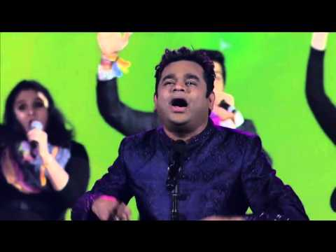 A. R. Rahman playing music Jai Ho (song),...