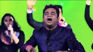 A. R. Rahman Playing Music Jai Ho (song), Without Instruments. An Unbelievable Concert At CES 2016