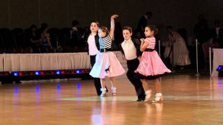 Ballroom Dance Video, 2011 Desert Classic Children's Showdances, Top Teachers & Studios