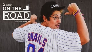 SNAILS On His DJ Battle With NGHTMRE & SLANDER At Lolla '19 | On The Road