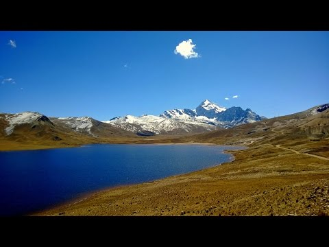 Bolivia Andes Mountains Part 1 On The Way To The 2nd Camp 5130m Full Hd Youtube