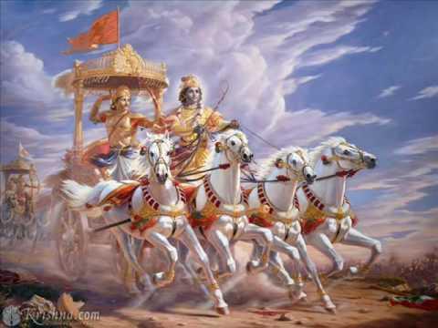 BHAGAVAT GITA GHANTASALA WITH TELUGU LYRICS PART 1