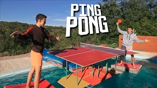 PING PONG Trick Shots | Jeyx