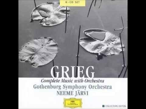 Grieg Symphony in C minor