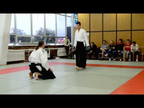 Polaganje za crni pojas (1.DAN) Darijan Kurnik -- Ki Aikido