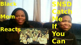 black mom reacts to girls generation catch me if you can music video korean ver