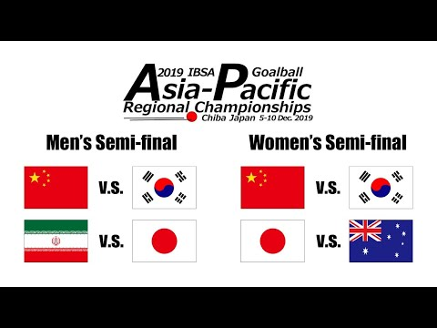 2019 IBSA Goalball Asia-Pacific Championships | Semi-finals |