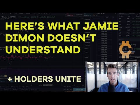 Here's What Jamie Dimon Doesn't Understand - LedgerX, Bitcoin Cash Hash Rate Plummets - CMTV Ep53