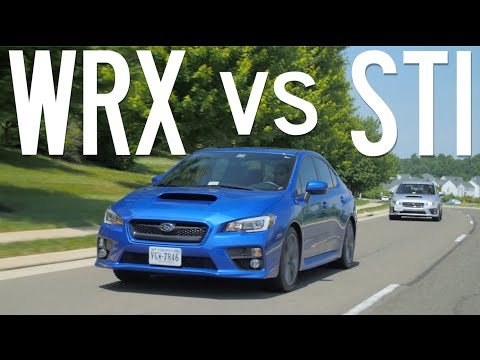 Is the WRX better than the STI? // Gears and Gasoline