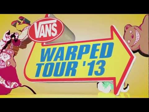 2013 Vans Warped Tour - Kicks Off June 15th!